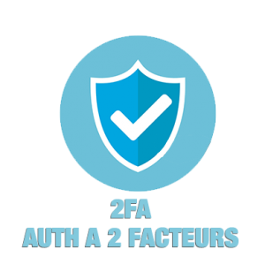2FA Authentification à 2 facteurs
